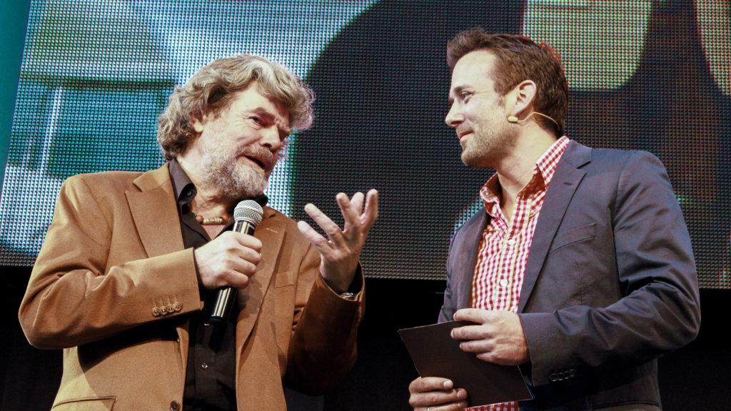 Hausmesse Durner – Reinhold Messner Event-Fotografie