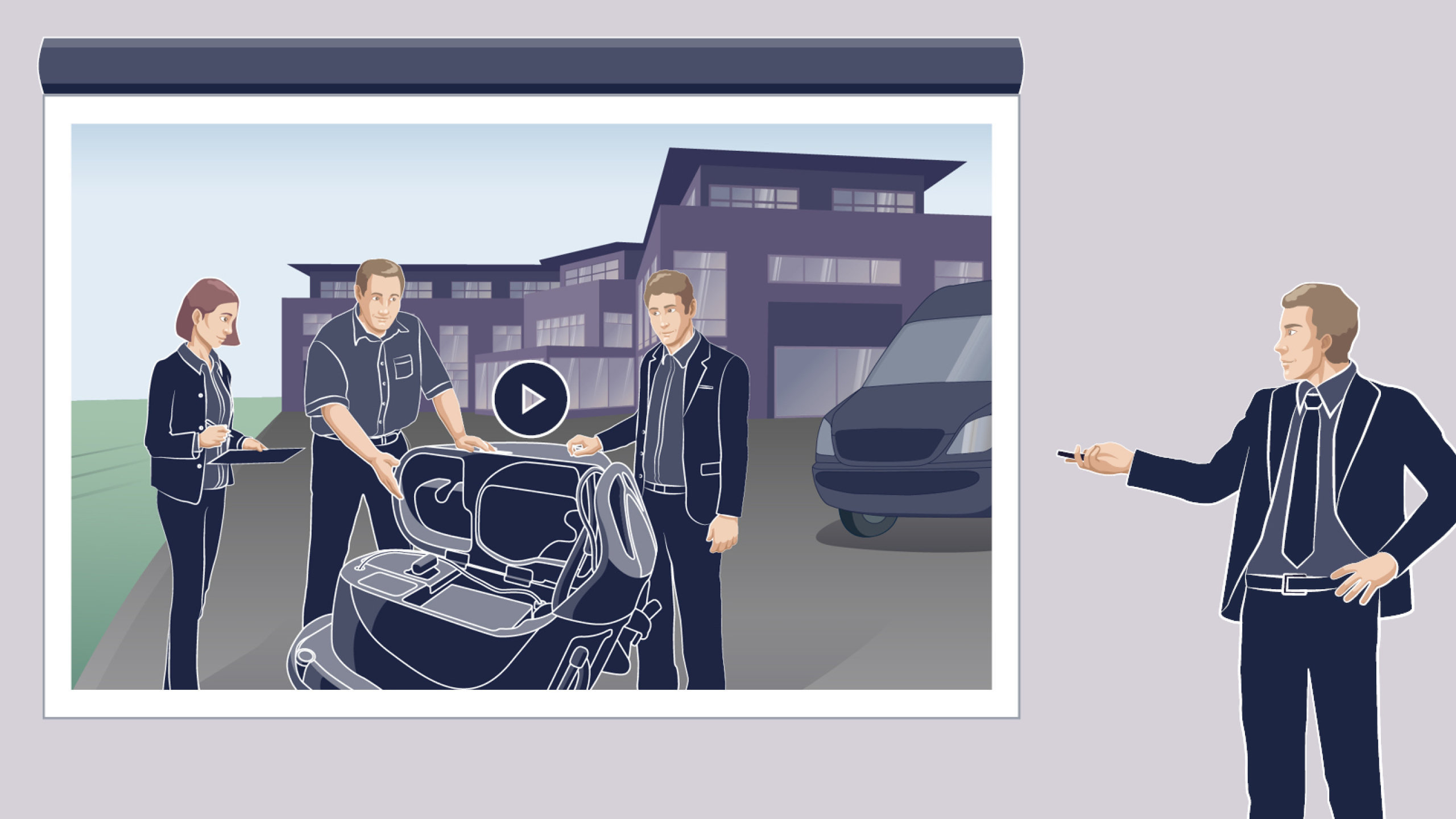 Numatic Animations- und Erklärvideo