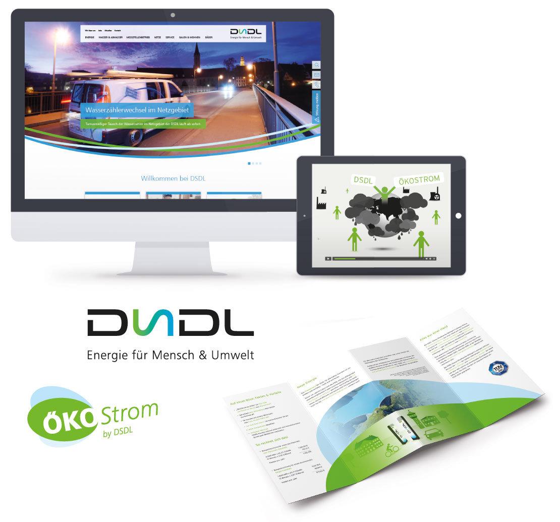 DSDL – Website, Erklärvideo, Logo und Flyer