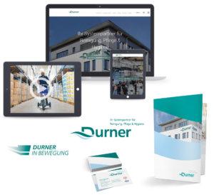 Durner – Website, Imagefilm, Visitenkarten, Logo und Flyer