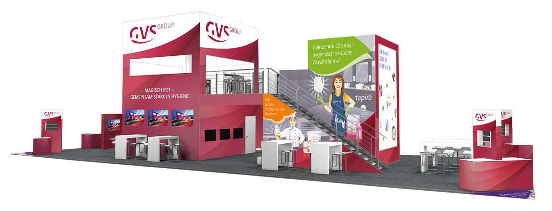 GVS Group Messestand CMS 2019
