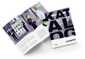 Numatic – neue Grafikwelt im Numatic Katalog